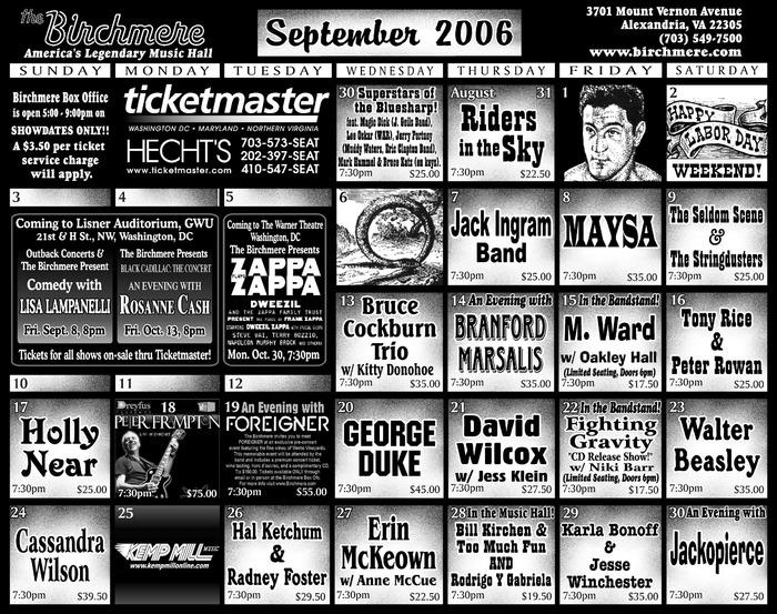 2006 september: